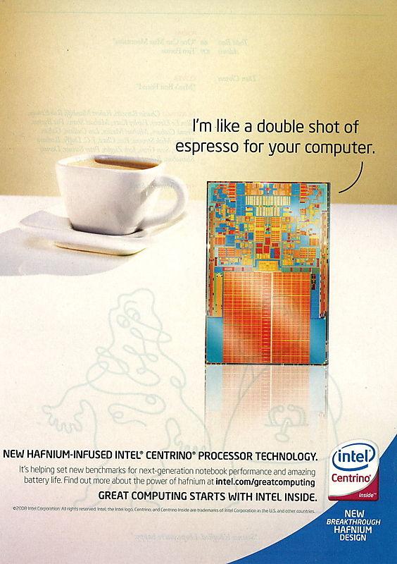 Intel ad