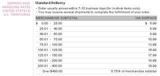 VS Shipping