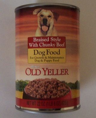 Oldyellerdogfood-can