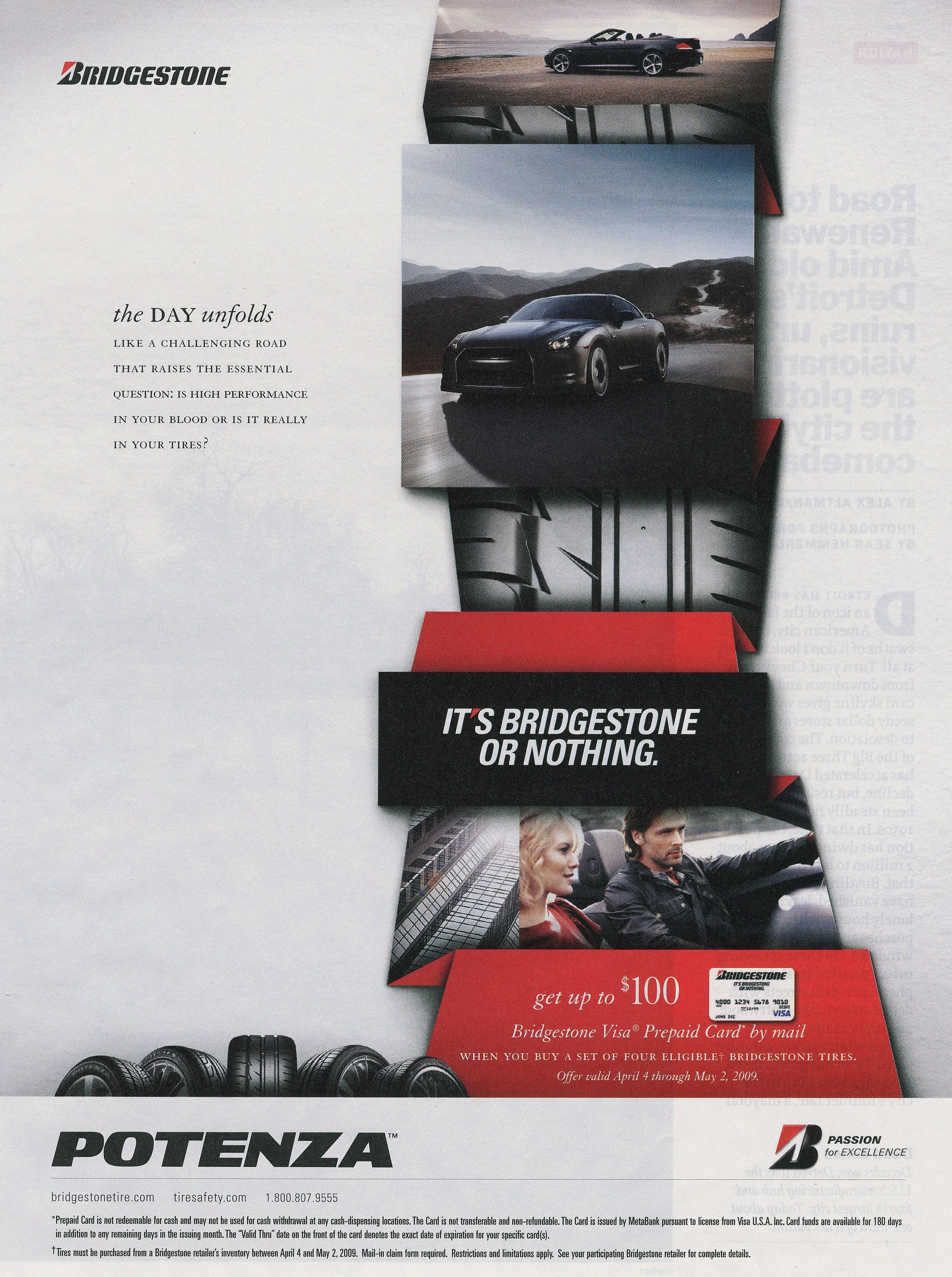 Bridgestone ad