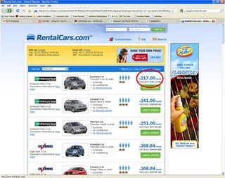 Rental car 1