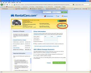 Rental car 2
